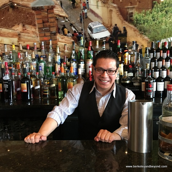 bartender at Pio Pio 2 in Jackson Heights, Queens, New York