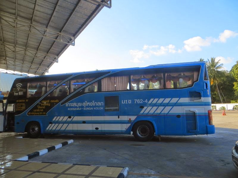bus Samui Sungai Kolok