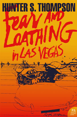 Fear and Loathing in Las Vegas by Hunter S. Thompson book cover