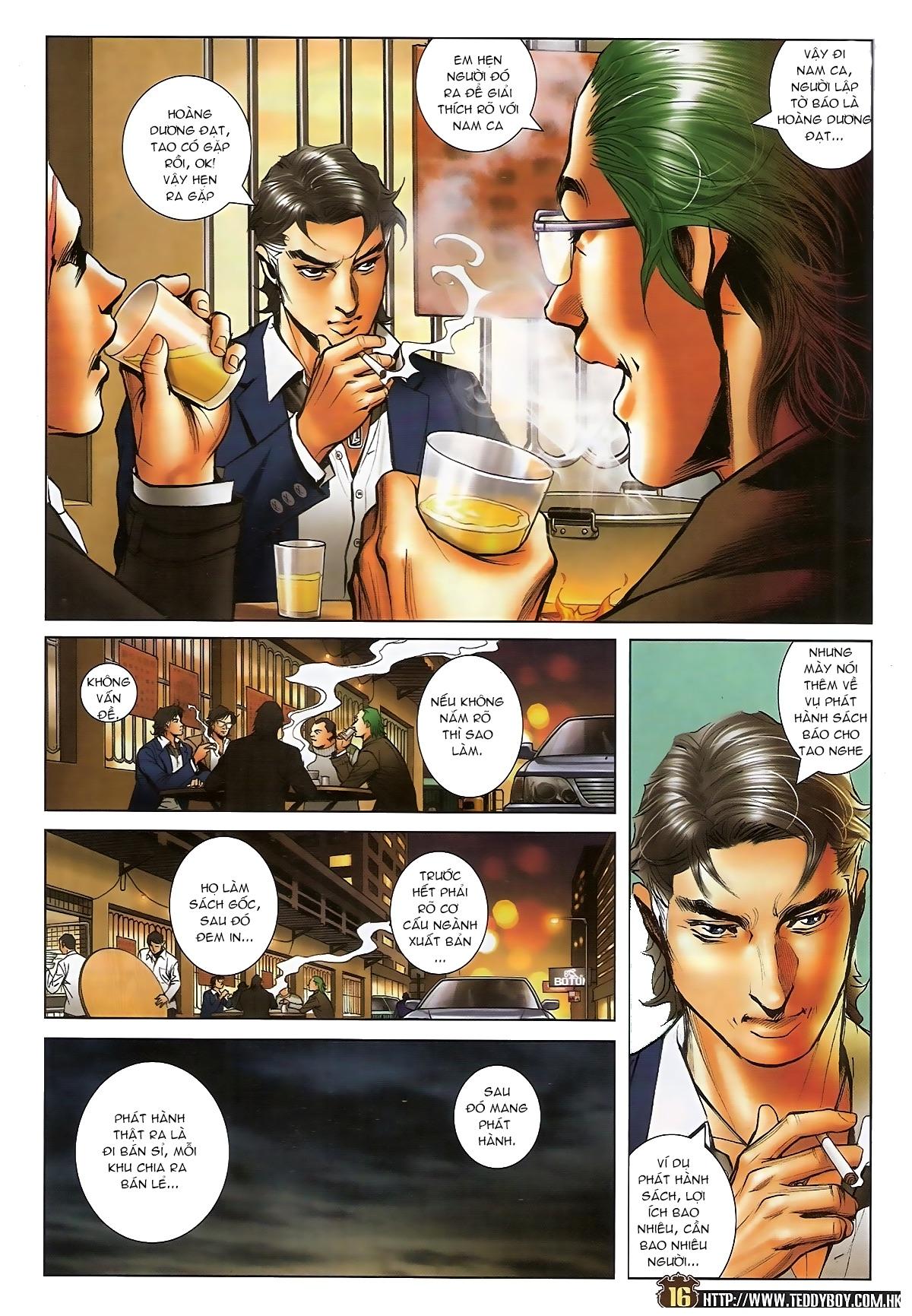 Người Trong Giang Hồ - Chapter 1573: Chuyện bên bếp lẩu - Pic 14