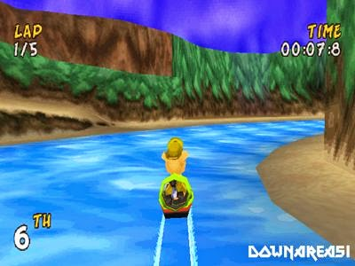 XS Airboat Racing PSX Screenshot