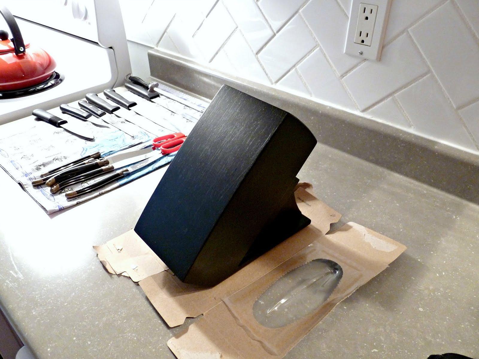 Chalkboard Knife Block
