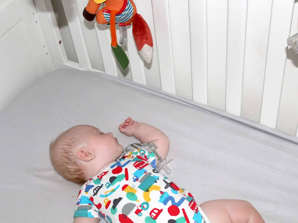 3 month old in his own room