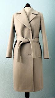 Mantel aus canvas nahen