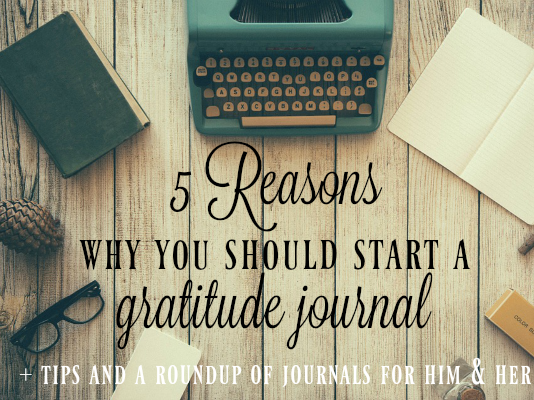 Starting a Gratitude Journal