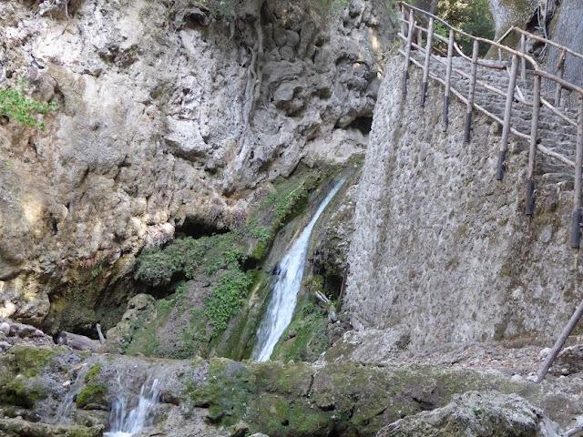 cascata nella Valle delle farfalle