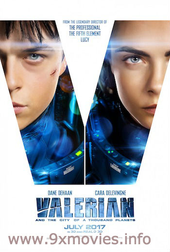 Valerian and the City of a Thousand Planets 2017 English Bluray 480p Download