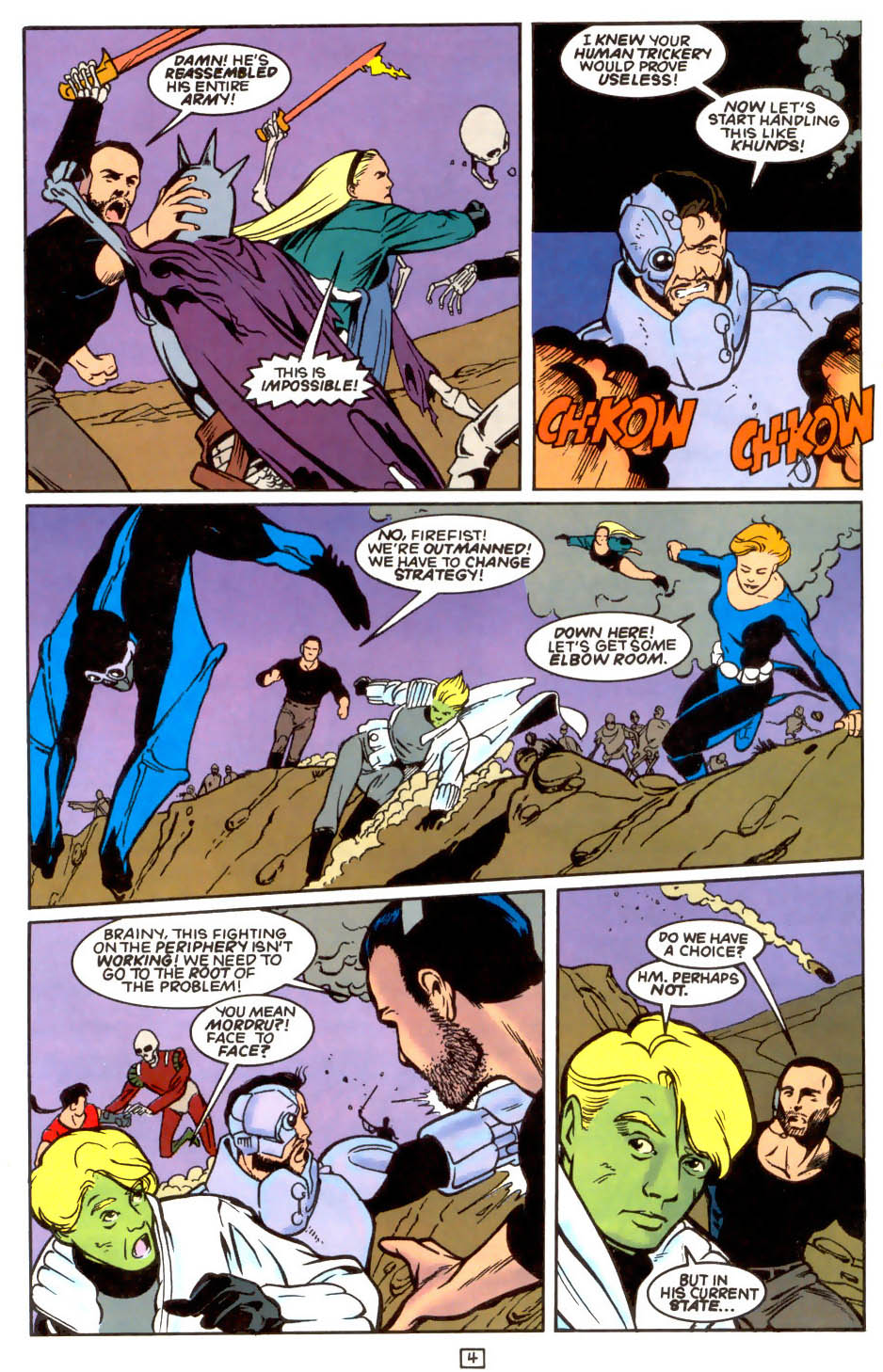 Legion of Super-Heroes (1989) 47 Page 4