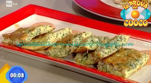 Frittata con agretti e pecorino ricetta Bertol da Prova del Cuoco