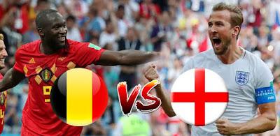 موعد مشاهدة مباراة إنجلترا وبلجيكا ضمن مباريات كأس العالم و القنوات الناقلة