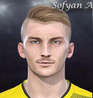 PES 2018 Faces Maximilian Philipp by Sofyan Andri