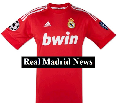 Real Madrid away jersey for Champions League 2011-2012