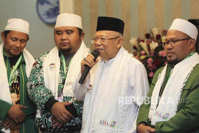 Ma'ruf Amin: Revolusi Mental Tidak Jelas Cuma buat Amien Rais, buat Pak Jokowi kan Jelas
