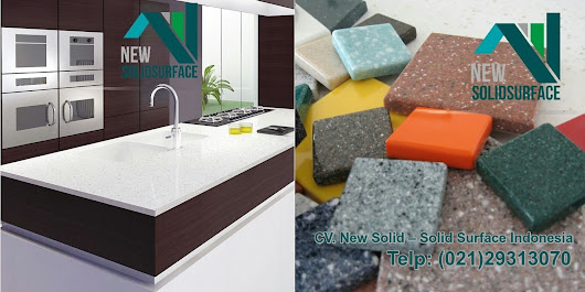 Motif Desain Terbaik Top Table Kitchen Set New Solid Surface Indonesia