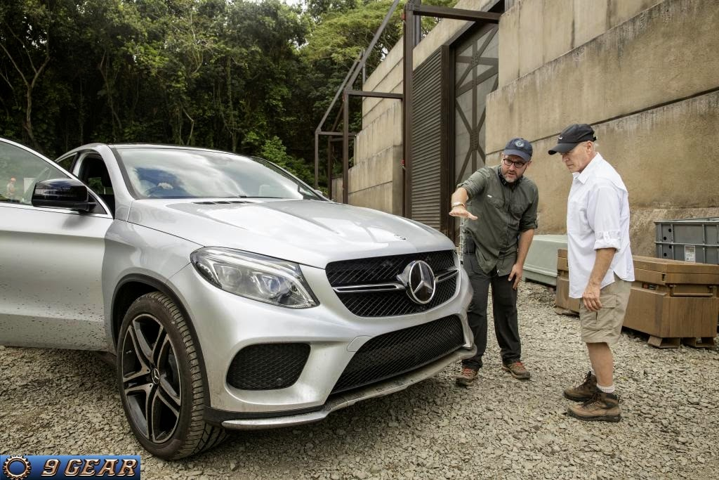 Mercedes-Benz GLE 450 AMG Coupé: Official car of Jurassic World ...