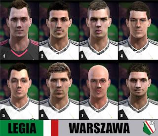 Faces: Bereszynski, Jodlowiec, Kopczynski, Lewczuk, Makowski, Maslowski, Pazdan, Szumski, Pes 2013