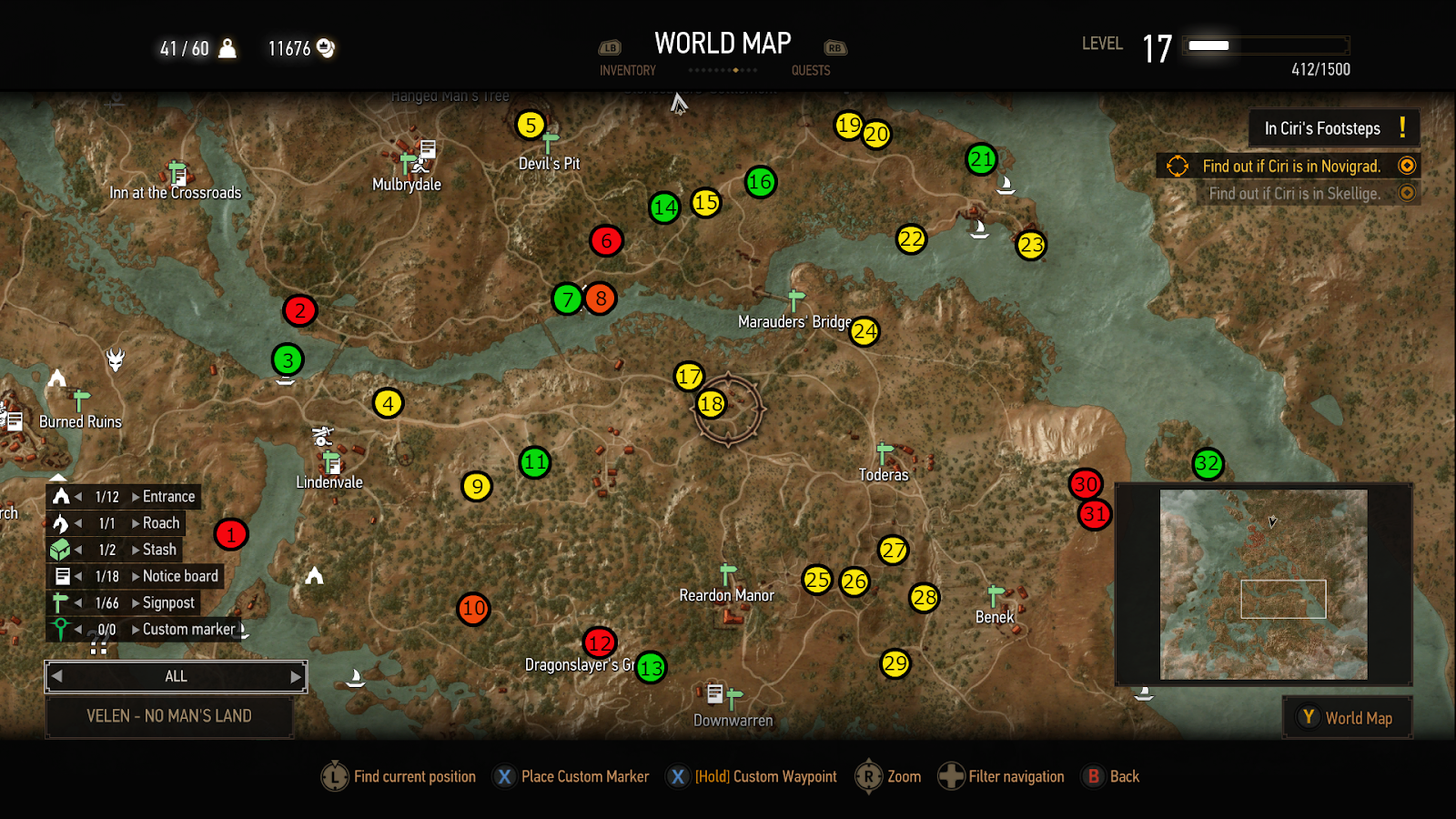 The Witcher 3 Maps