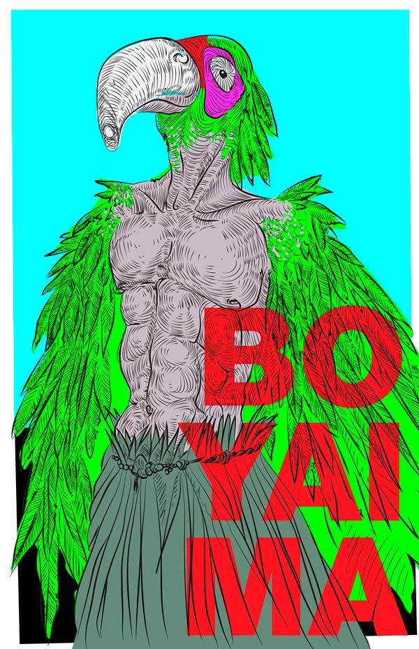 Ilustración, Boyaima de Carlos Arturo Rojas Pérez