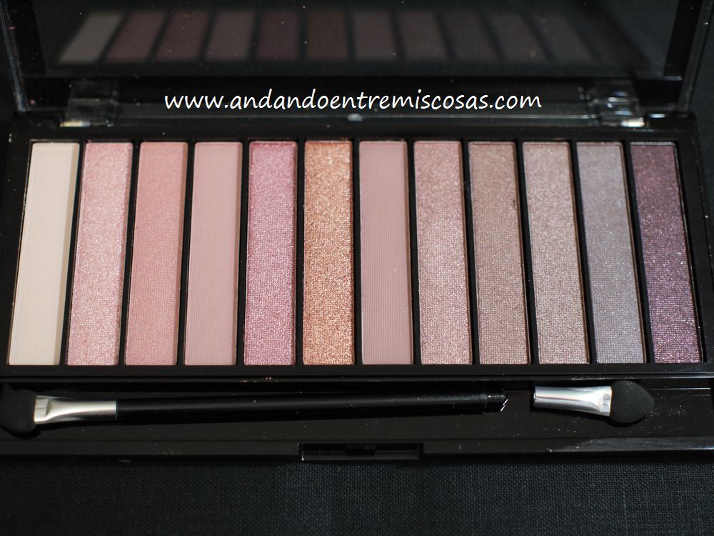 Makeup Revolution Paleta de sombras de ojos Redemption Iconic3