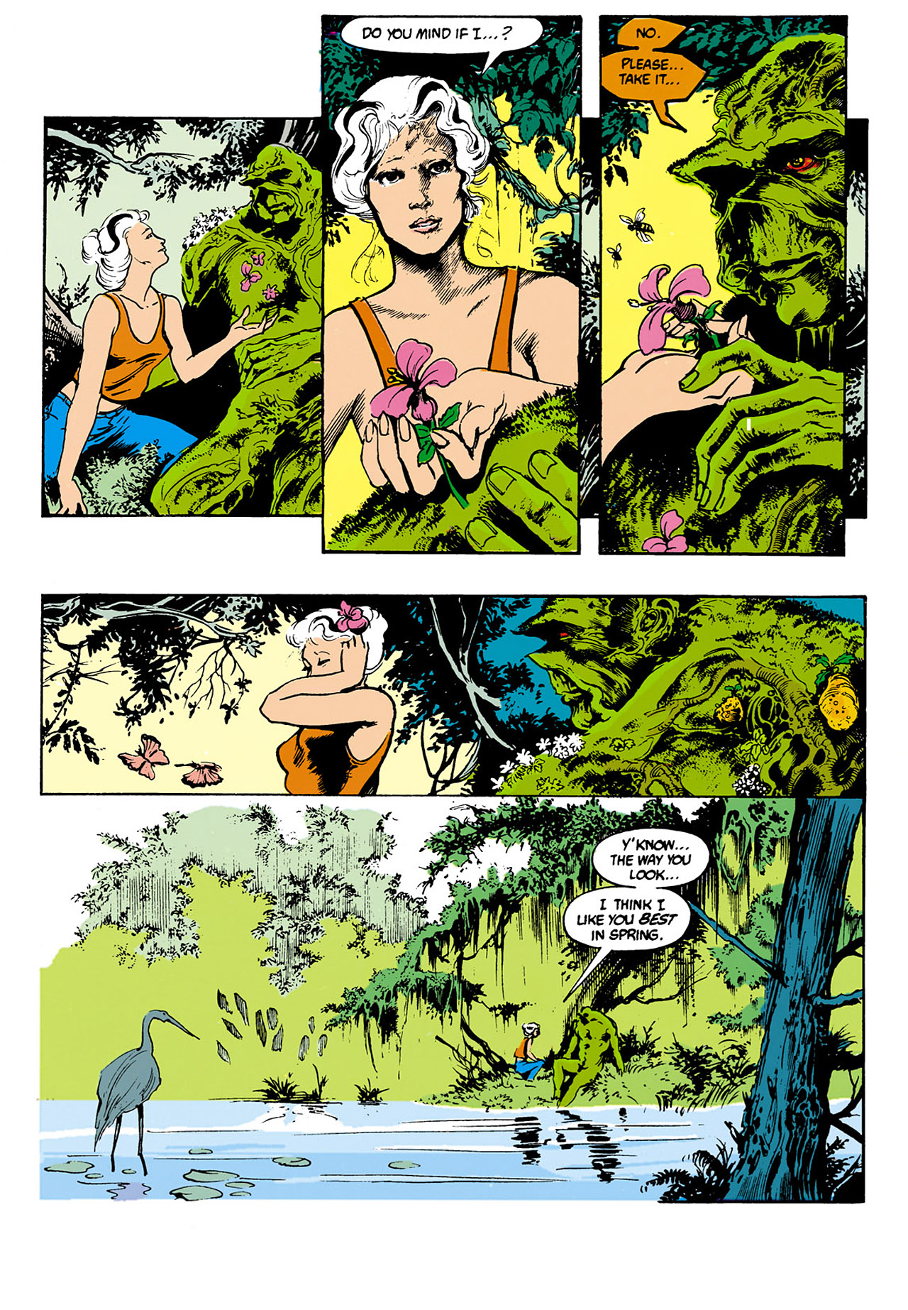 Swamp Thing (1982) Issue #34 #42 - English 4