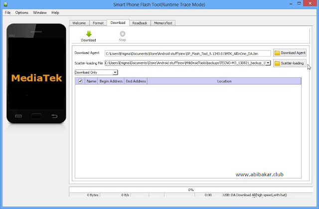 Download SP Flash Tool Terbaru Dan Cara Flash MediaTek