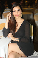 Kyra Dutta in black At Rogue Movie Audio Launch ~  084.JPG