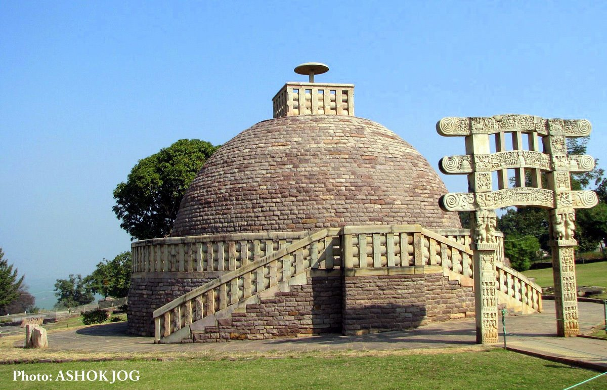 SANCHI STUPA :The Buddhist Monuments | golden india