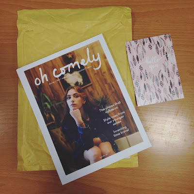 Post of the day. Oh Comely magazine.