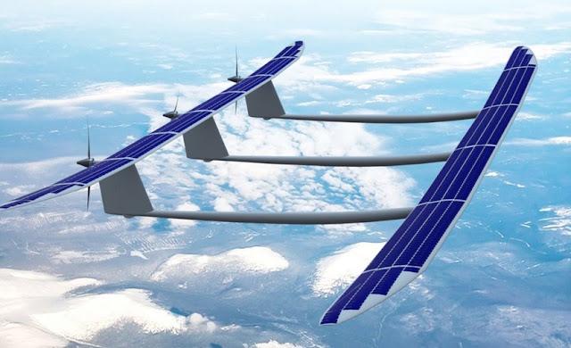 Семейство псевдо-спутников для раздачи Интернета пополнил дрон ApusDuo