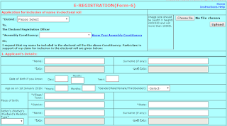 How to Apply new voter id card online in india