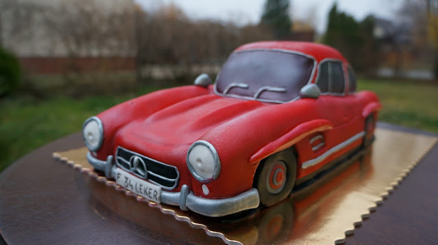 Birthday Cake Mercedes-Benz London Cakes