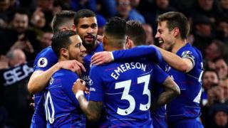 Labaran wassani ::::   Chelsea ta koma ta uku a teburin Premier