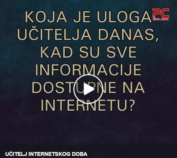 UČITELJ INTERNETSKOG DOBA
