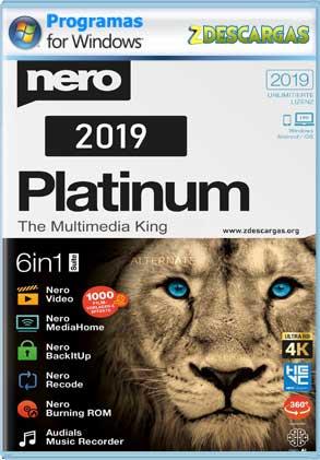 Nero Platinum 2019 v20 [Full] Español [MEGA]