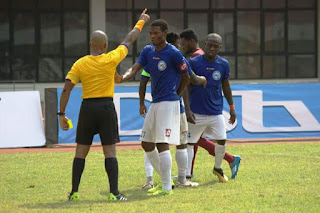 ELVIS OPOKU REMORSEFUL FOR FOUL PLAY