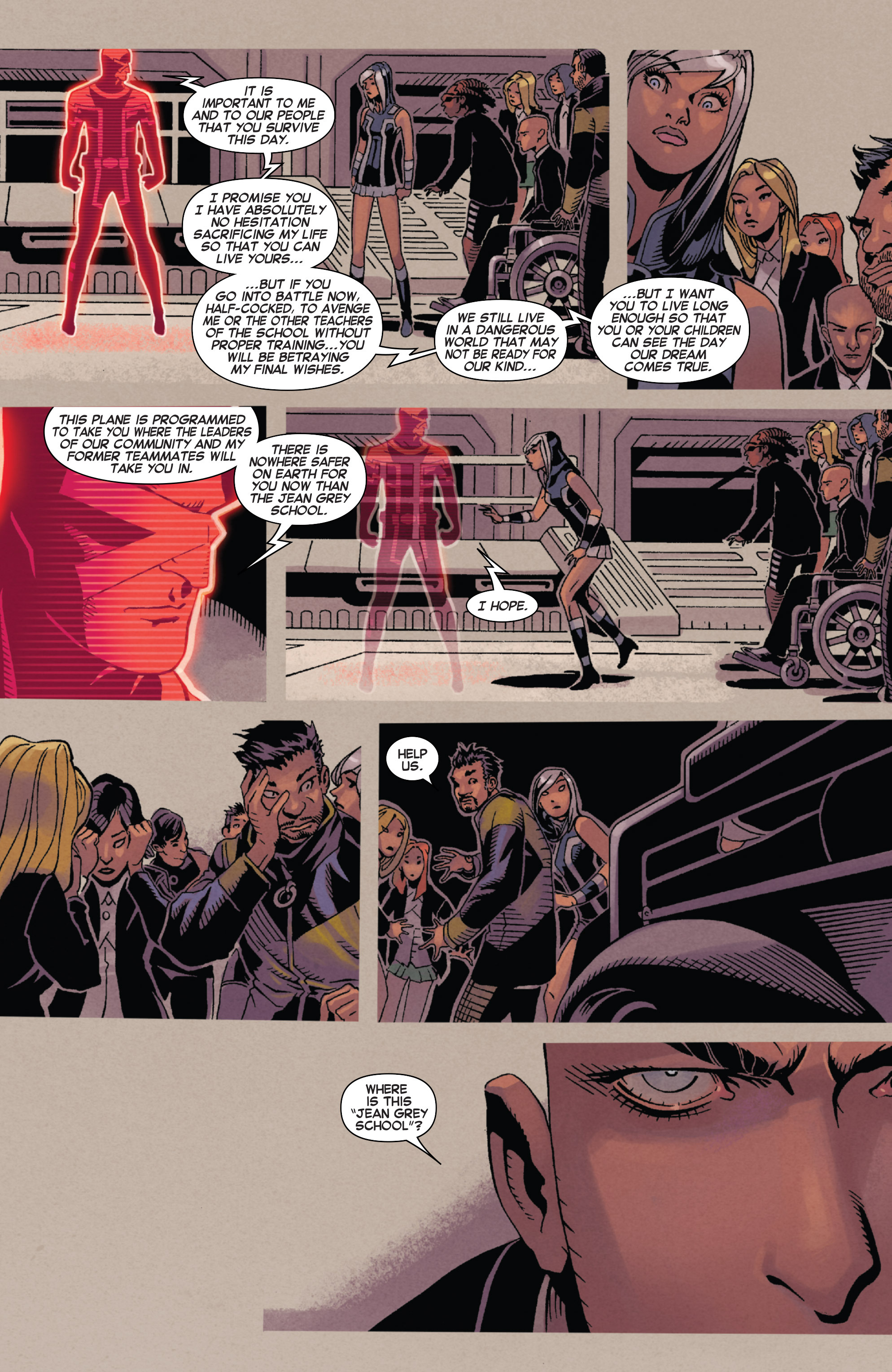 Read online Uncanny X-Men (2013) comic -  Issue # _TPB 5 - The Omega Mutant - 98