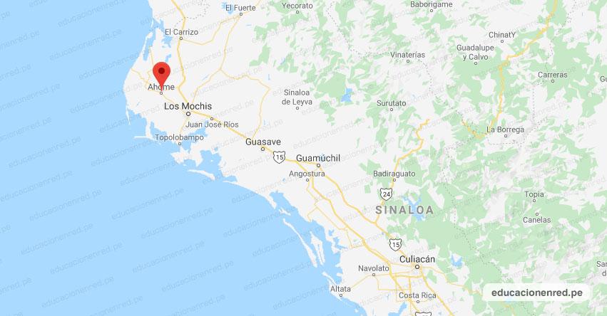 Temblor en México de Magnitud 4.0 (Hoy Domingo 21 Junio 2020) Sismo - Epicentro - Ahome - Sinaloa - SIN. - SSN - www.ssn.unam.mx