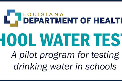 Louisiana Department of Health's School Water Lead Testing Program Has Good News