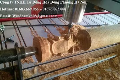 Máy cnc khắc gỗ 6 đầu - Hàng Việt Nam chất lượng quốc tế - 01683.669.966