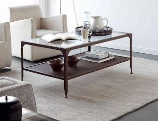mesa de centro forja, mesa de sofa forja