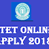 CTET 2018 – CTET Online Apply 2018@ctet.nic.in