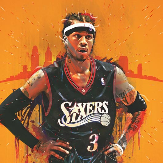 Allen Iverson Wallpaper Engine