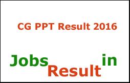 CG PPT Result 2016