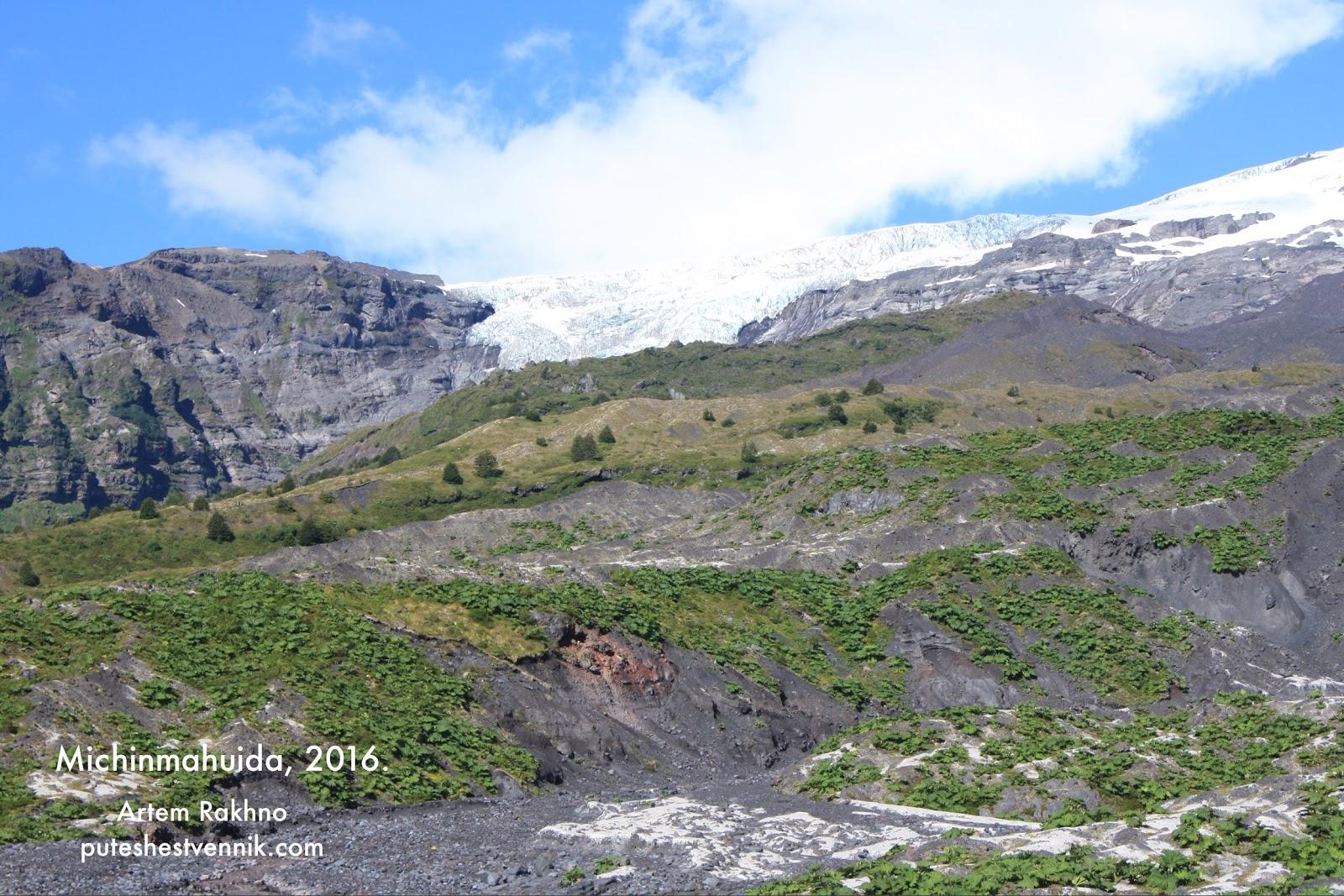 Горы в окрестностях вулкана Мичинмахуида