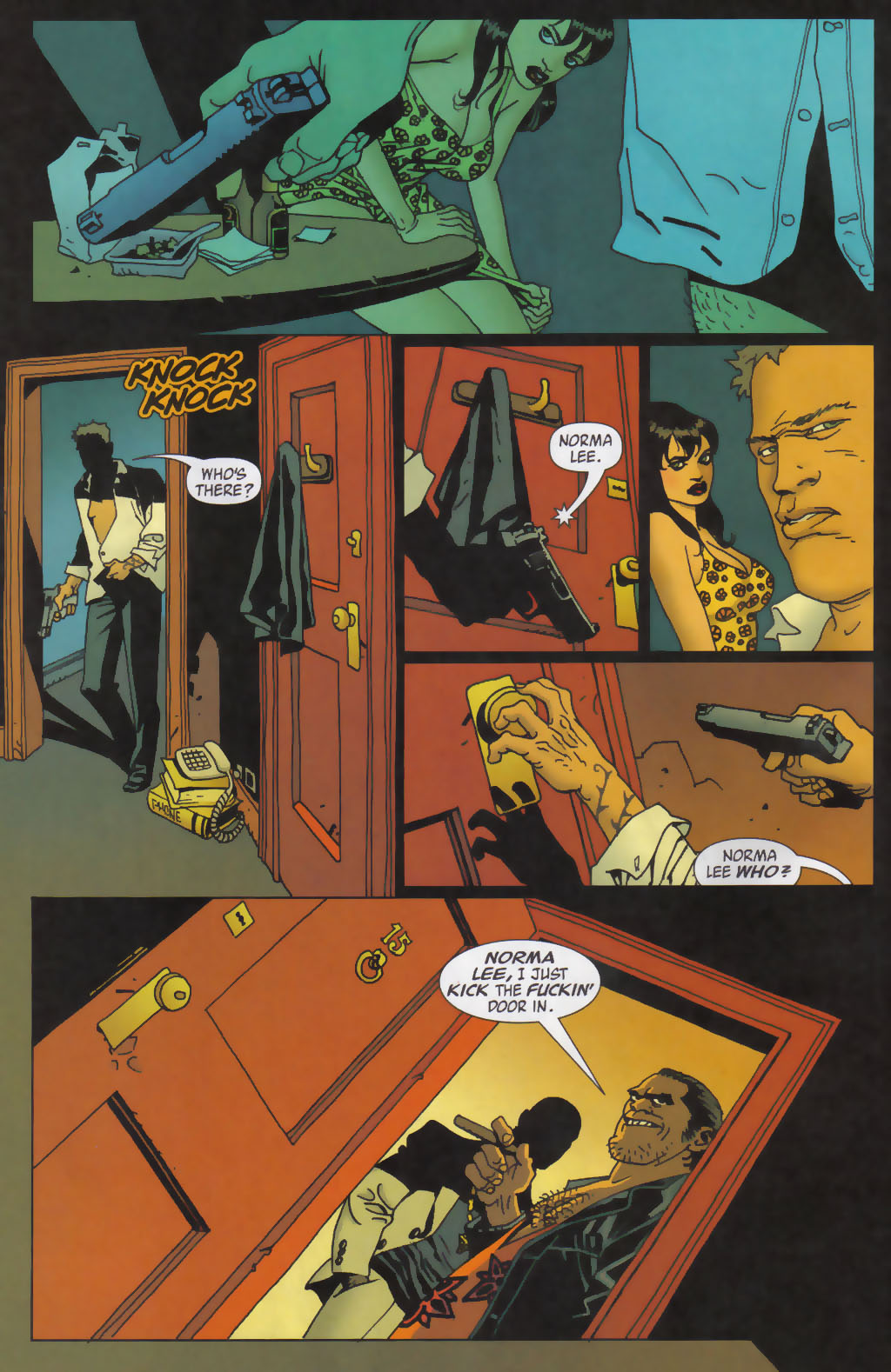 Read online 100 Bullets comic -  Issue #59 - 6