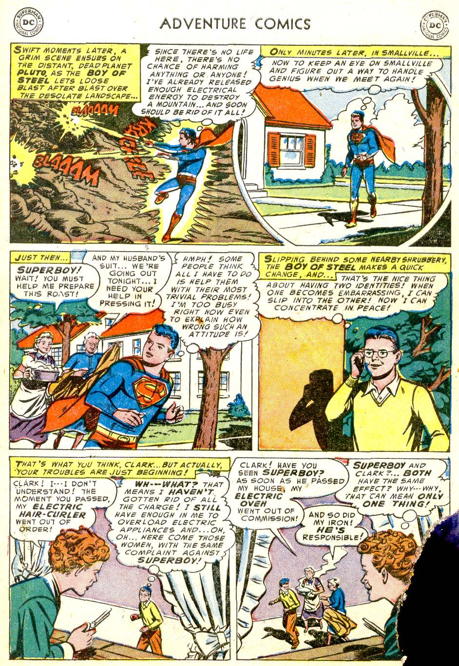Read online Adventure Comics (1938) comic -  Issue #194 - 9