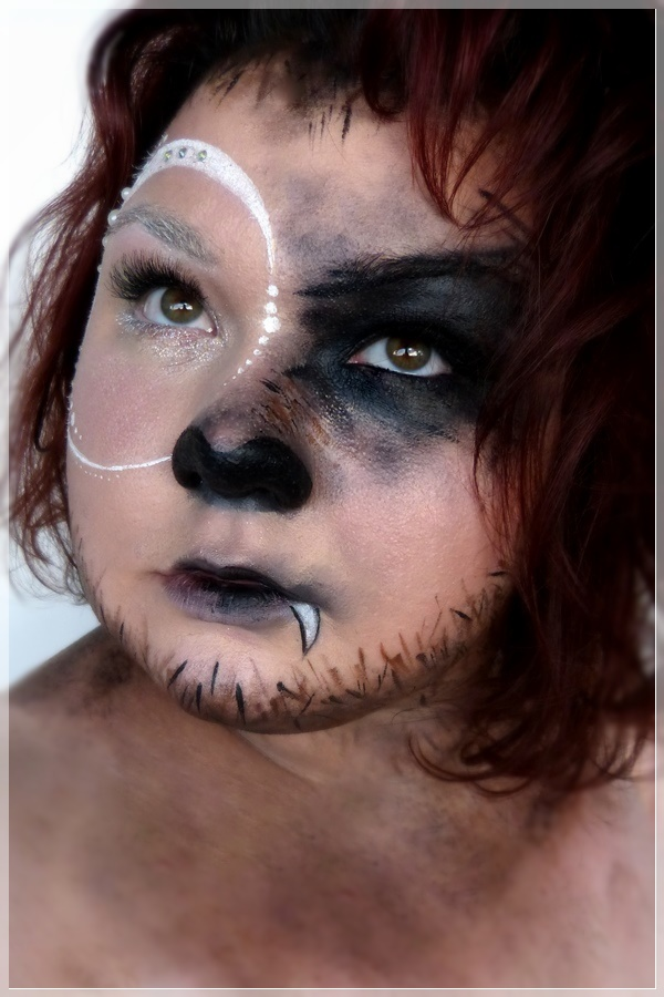 Harry Potter Werwolf Makeup