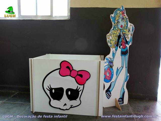 Decoração festa Monster High - Mesa de Aniversário infantil