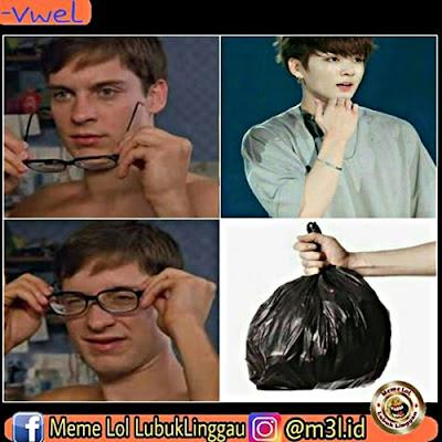 10 Meme 'Plastik Korea' Ini Nyindirnya Bikin Ngakak Parah
