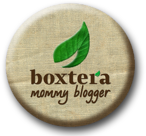 boxtera mommy blogger badge